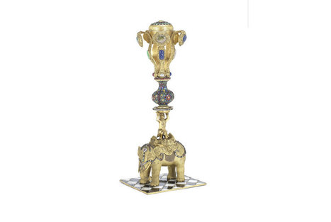 Imperial Chinese 'elephant' hat stand for sale at Bonhams in London | Art Daily | Asie | Scoop.it