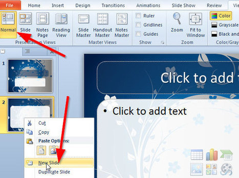 How to make a PowerPoint Template in MS PowerPoint 2010 | Reading | Scoop.it