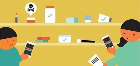 Think Dirty : une application smartphone qui classifie les produits cosmétiques selon leur impact sur votre santé   Geek cosmétique   Scoop.it