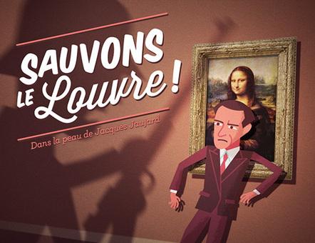 Sauvons le Louvre ! le serious game | Remue-méninges FLE | Scoop.it