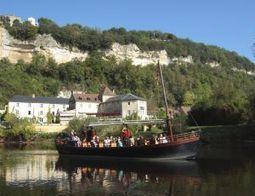 Promenade en Gabarre sur la Dordogne | The Blog's Revue by OlivierSC | Scoop.it