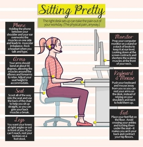 Sitting Pretty [Infographic] | Visualisation | Scoop.it