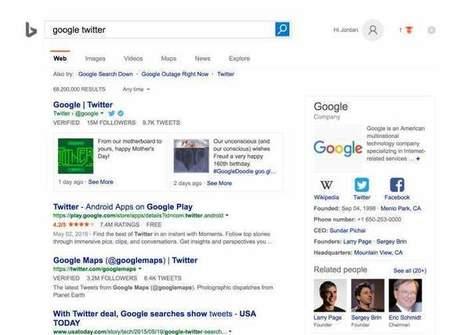 Bing también mostrará tweets en sus resultados de búsqueda   Marketing en la Ola Digital   Scoop.it