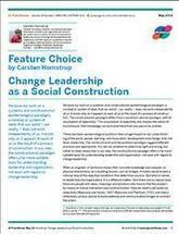 Change Leadership as a Social Construction   Art of Hosting   Scoop.it