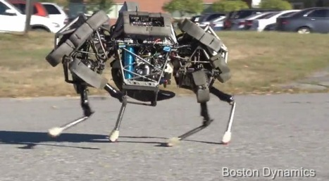 """Pray That This Scary, Galloping Four-Legged Robot Never Comes for You 
