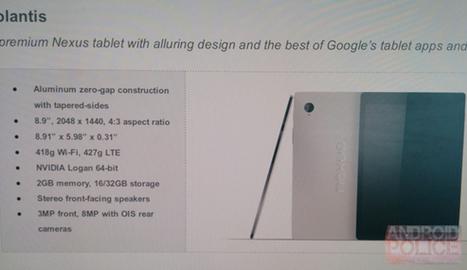 HTC Nexus 9 Volantis Specifications Image Price Leaked   Internet   Scoop.it