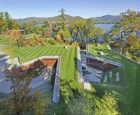 Lakeside Retreat / GLUCK+ | ArchDaily | Geo-photography | Scoop.it