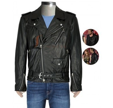 Ryan Gosling Black Biker Leather Jacket with Multi Pockets | Unique collection of celebrity jackets its now | Scoop.it