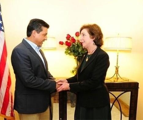 Se reúne el gobernador con embajadora de EU | Bajo Bravo-Rio Grande Valley. | Scoop.it