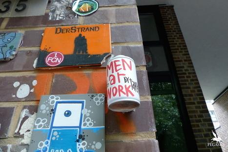 Dans les rues de Hambourg… | The art of Tarek | Scoop.it
