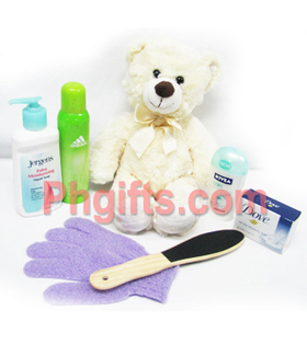 Order Beauty and Wellness Package for your wife with Teddy Bear. Deliver anywhere in Philippines. | MOTHER'S DAY GIFT IDEAS | Scoop.it