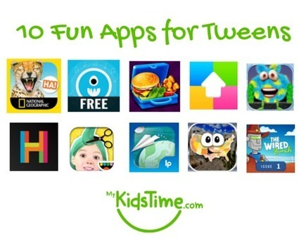 10 Fun Apps for Tweens | MyKidsTime | How to Use an iPhone Well | Scoop.it