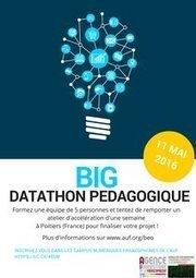 Big Datathon pédagogique dans nos Campus numériques francophones ! - AUF | LES INFOS DE LA SEMAINE | Scoop.it