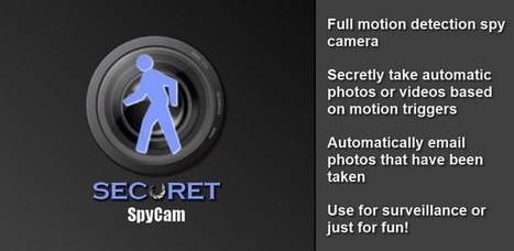 SECuRET SpyCam - Applications sur l'Android Market | Android Apps | Scoop.it