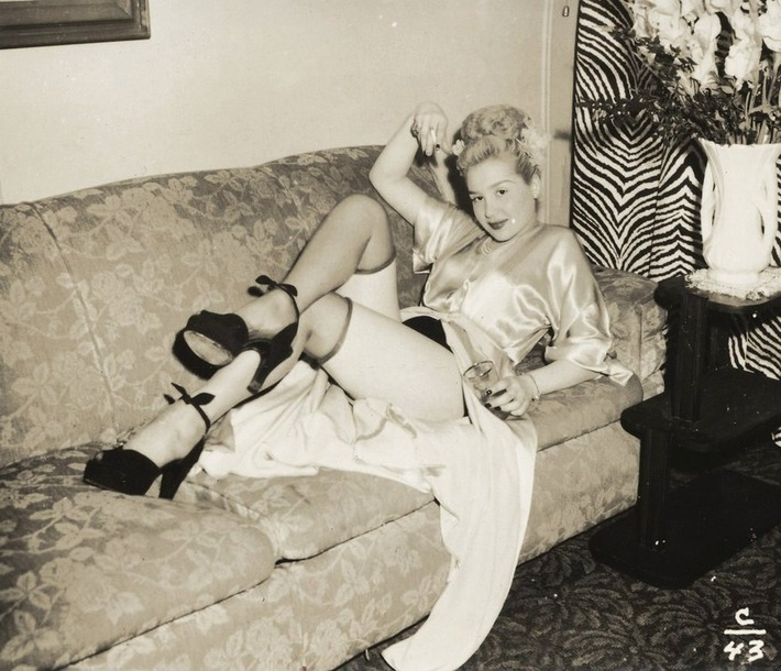 1940s Amateur Pinup Girl Photo | Sex History | Scoop.it