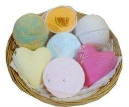 Corbeille de Bain Effervescents en Folie - L'Accro du Bain | L'Accro du Bain boutique de produits pour le bain et savons gourmands:boule de bain, savons de Marseille,savon artisanal,cupcake de bain, savons cupcakes | Scoop.it