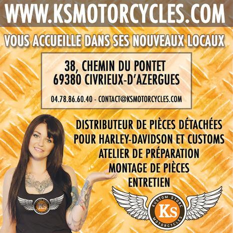 Kustom Store Motorcycles: KS Motorcycles vous accueille désormais à Civrieux-d'Azergues! | Kustom Store Motorcycles | Scoop.it