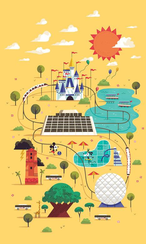 Ilustraciones infantiles con aire retro, clave del éxito de Andrew Kolb en 'Edmund Unravels' | El Mundo del Diseño Gráfico | Scoop.it