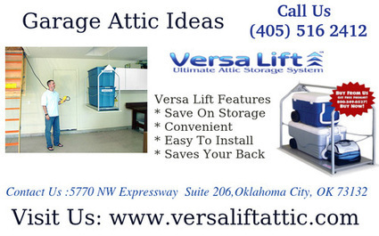 The best solution to move your things to different floors of your home   Versa Lift Attic Lift System   Scoop.it