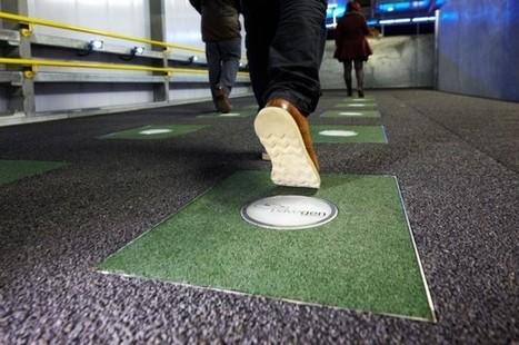 Demain, le sol des gares transformera nos pas en énergie - Energie | Innovation - Environnement | Scoop.it