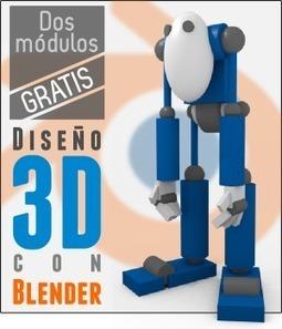 Diseño 3D con Blender: acceso gratuito | Digital Learning - Formación online en Nuevas Tecnologías | (I+D)+(i+c): Gamification, Game-Based Learning (GBL) | Scoop.it