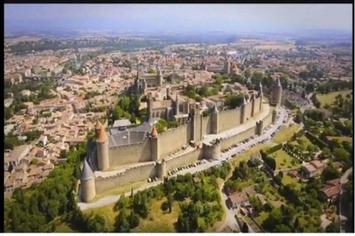 La majestueuse Cité de Carcassonne filmée par drones | #TerresCathares | Scoop.it