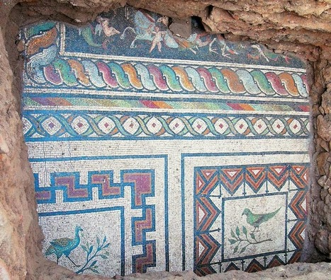 Majestic mosaic unearthed in Northern Greece | Monde antique | Scoop.it