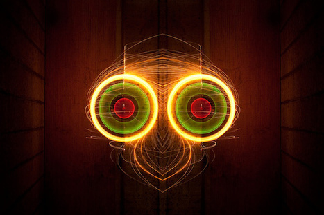 Light Rorschach, Inkblot-Style Photos Made by Spinning Molten Steel Wool | Light Painting | Scoop.it