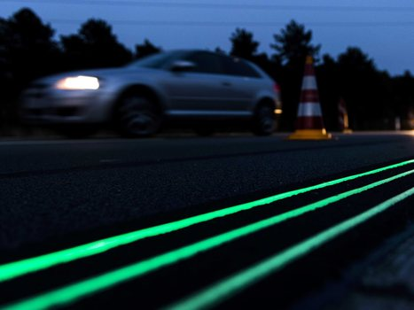 Dutch Test Glow-In-The-Dark Road Of The Future | It's Show Prep for Radio | Scoop.it