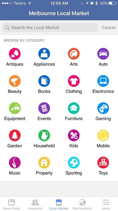 Facebook Testing Local Market? | Tout sur les réseaux sociaux et le commerce | Scoop.it
