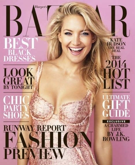 Kate Hudson for Harper's Bazaar US | Create Your Dream | Scoop.it