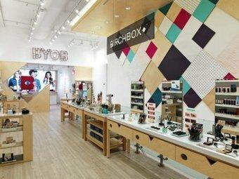 Birchbox décline son concept dans une première boutique à New York - Premium Beauty News | Decoration aménagements commerciaux et professionnels, cosa&faits | Scoop.it
