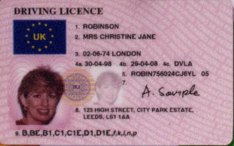 Union Flag or Royal Crest to appear on driving licences - Telegraph | English Learning House | Scoop.it