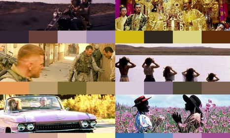 10 color palettes from famous movies - 99designs Blog | Public Relations & Social Media Insight | Scoop.it