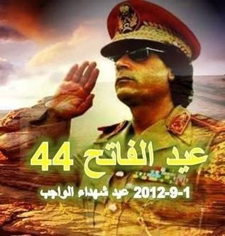 Libye : 44e anniversaire de la révolution libyenne | Actualités Afrique | Scoop.it