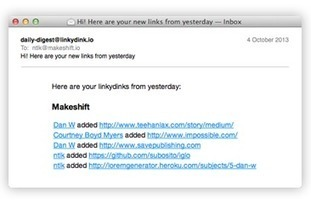 Linkydink - The simplest way to share links with your team | TICE & FLE | Scoop.it