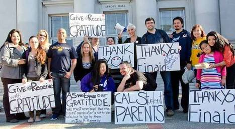 'Gratitude rally' by student parents makes financial-aid officers' day | News of Interest for Community College Students | Scoop.it
