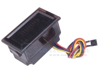 48V Double Display Digital Voltmeter Voltameter For 13pcs Lithium Battery - Indicator - Arduino, 3D Printing, Robotics, Raspberry Pi, Wearable, LED, development boardICStation   Modules   Scoop.it