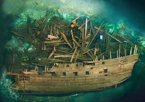Cursed Warship Revealed With Treasure Onboard | Ab's Scuba diving news | Scoop.it