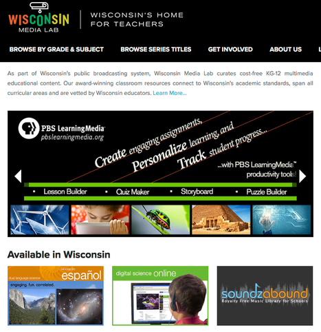 Wisconsin Media Lab website updated | Education Today and Tomorrow | Scoop.it