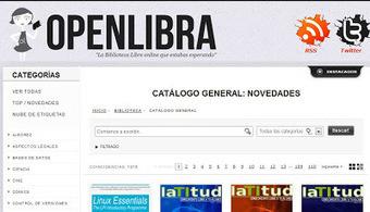 OpenLibra. Biblioteca libre, gratuita y legal   Educación a Distancia y TIC   Scoop.it