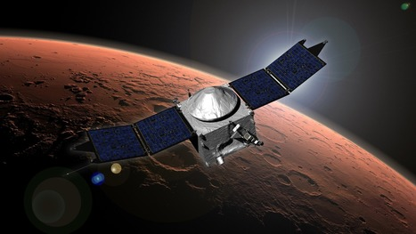 NASA Mission Provides Its First Look at Martian Upper Atmosphere | Mars | Scoop.it