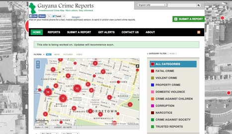 Citizens Use Technology to Fight Crime in Guyana | Legal information design | Scoop.it