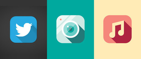 Long Shadow Design – A New Trend? | Communication... toujours plus vers le tout numérique ? | Scoop.it