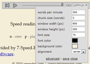 Free online speed reading software | Spreeder.com | spreeder | Scoop.it