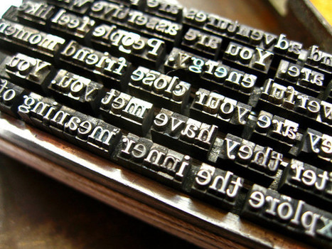 Bookmark - Louise McWhinnie on the invisible art of typography   Books On Books   Scoop.it