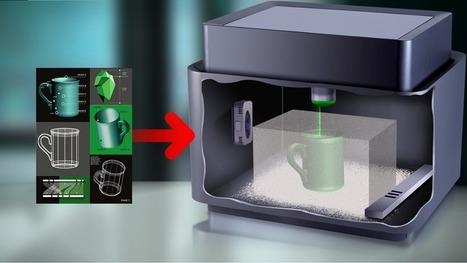 Une imprimante 3D, comment ça marche ? | TICE | Scoop.it