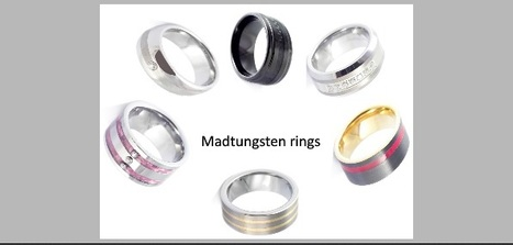 #tungsten-#rings | Tungsten Wedding Rings | Scoop.it