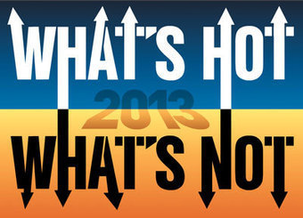 What's Hot, What's Not 2013 -- Campus Technology | Zentrum für multimediales Lehren und Lernen | Scoop.it