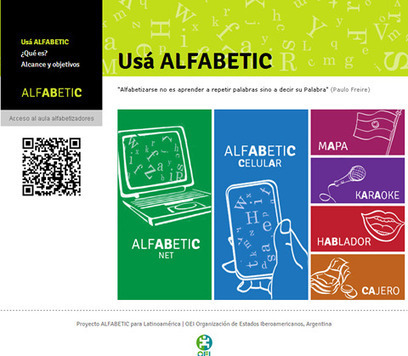 AlfabeTIC: Alfabetización inicial de jóvenes y adultos a través de las TIC | Educación Iberoamericana | Scoop.it